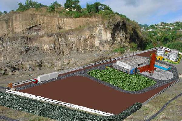 Campaña geotécnica VINLEC- Lowman's Bay Generation Expansion Project