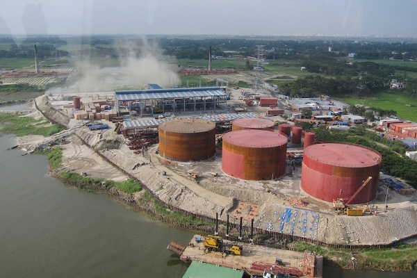 CSA and building services design for 2 power plants of 100 MW in Bangladesh